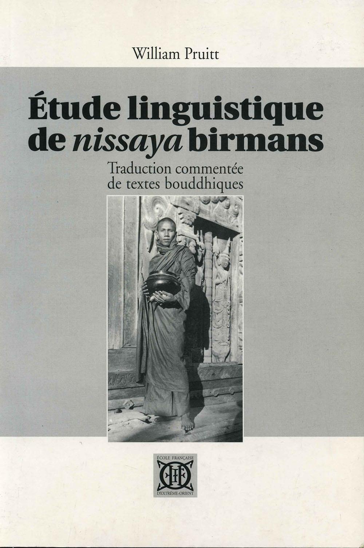 Étude linguistique de nissaya birmans