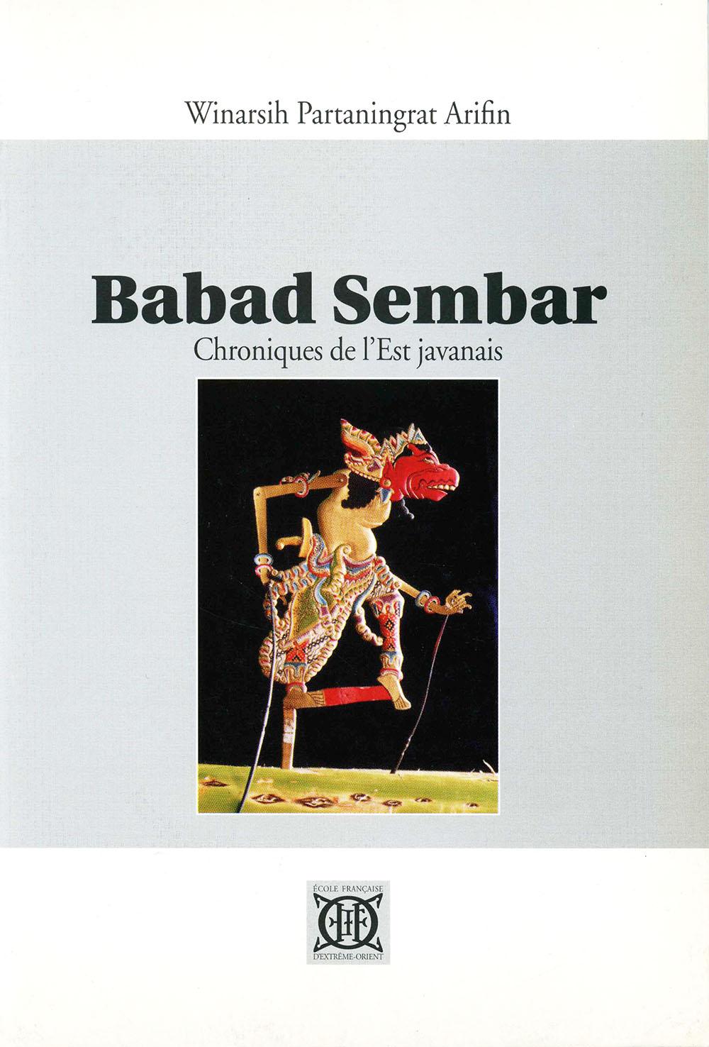 Babad Sembar. Chroniques de l'Est javanais