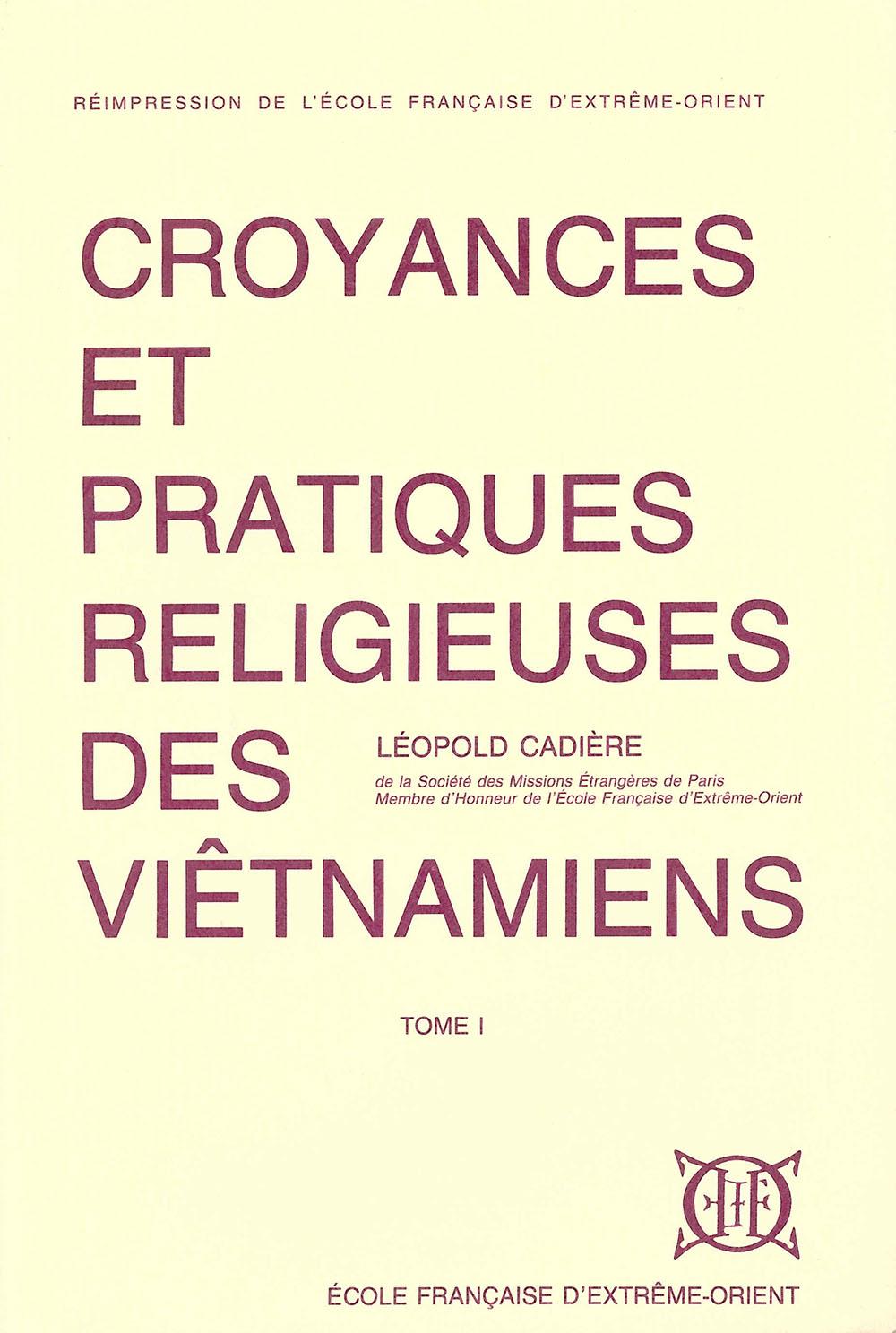Croyances et pratiques religieuses des Vietnamiens