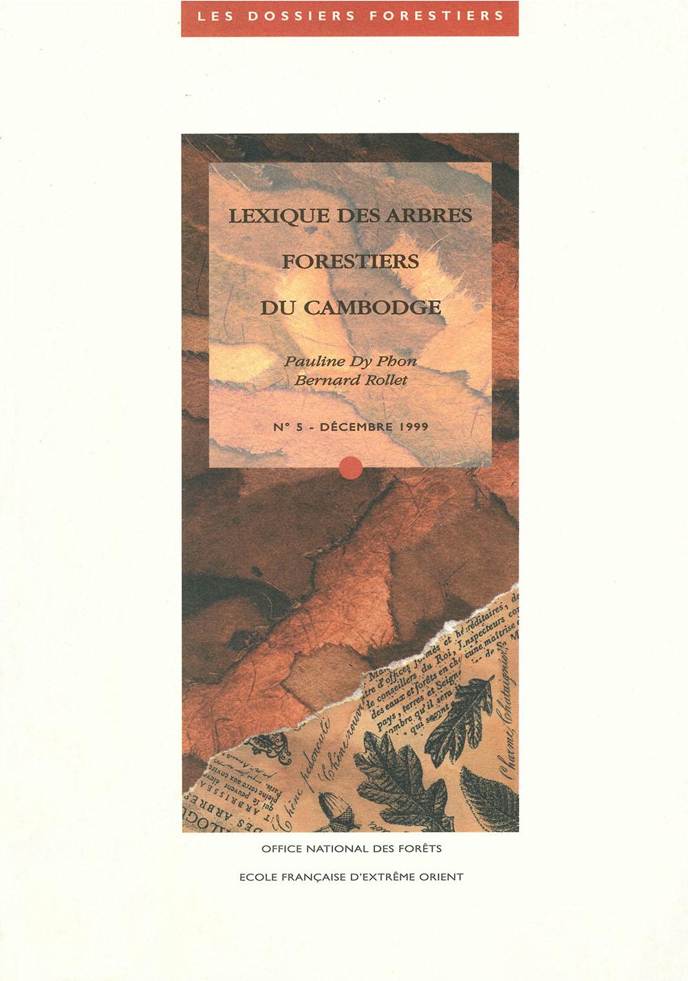 Lexique des arbres forestiers du Cambodge
