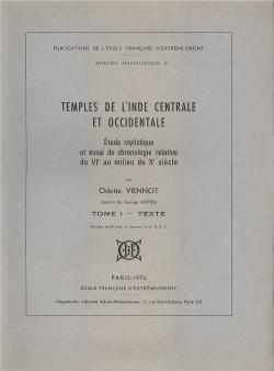 Temples de l'Inde centrale et occidentale