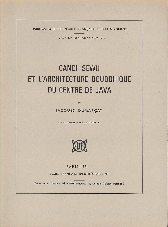 Candi Sewu et l'architecture bouddhique du Centre de Java