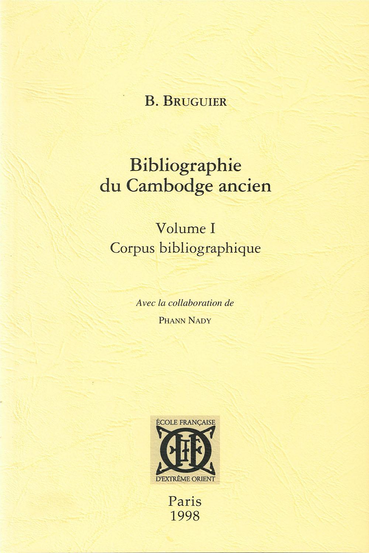 Bibliographie du Cambodge ancien