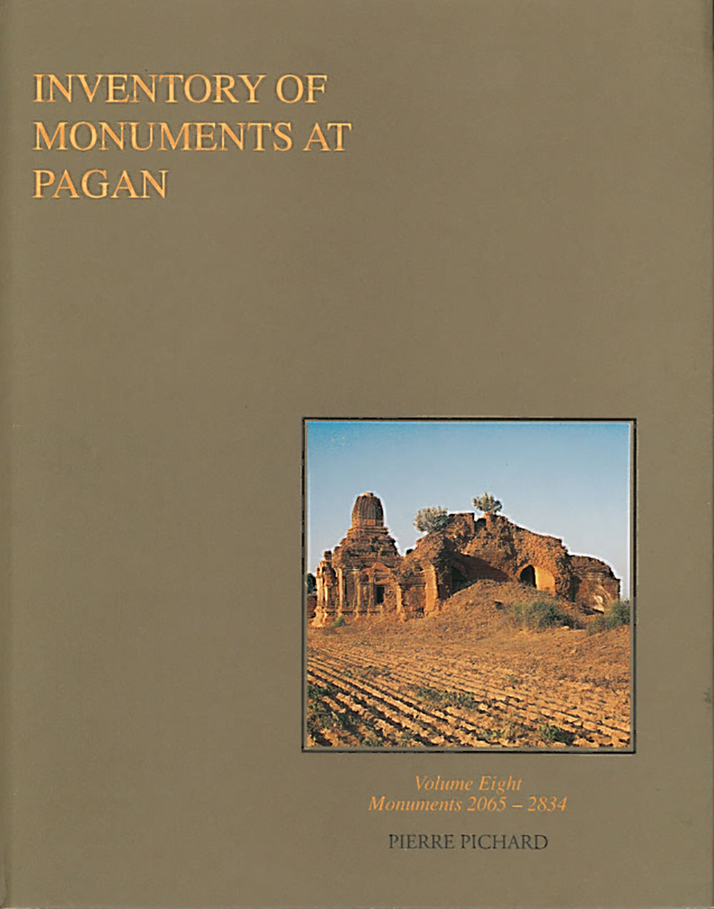 Inventory of Monuments at Pagan / Pagan, inventaire des monuments