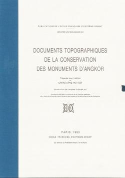 Documents topographiques de la conservation des monuments d'Angkor