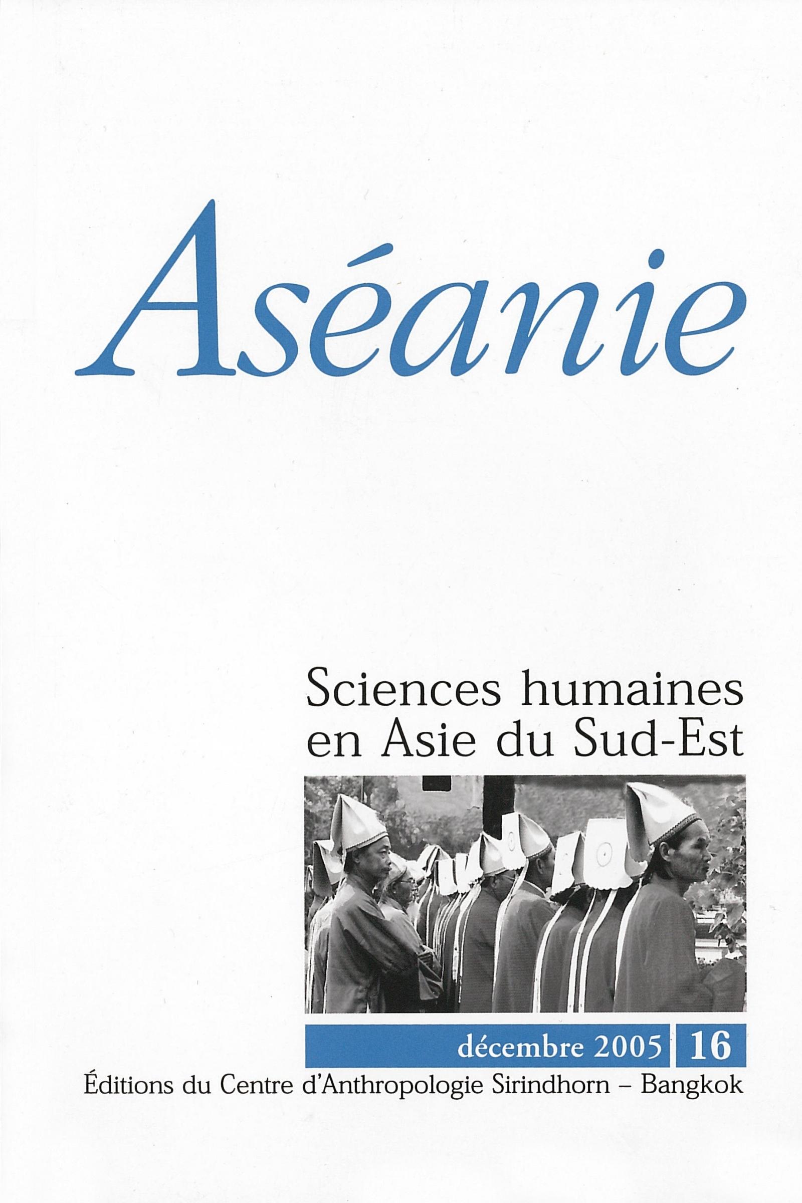 Aséanie 16 (décembre 2005)