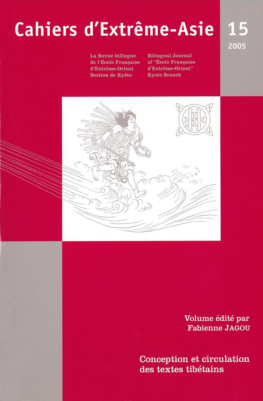 Cahiers d'Extrême-Asie 15 (2005)