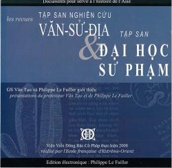 Van Su Dia (1954-1959) et Dai Hoc Su Pham (1955-1956)