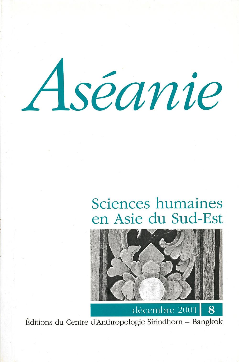 Aséanie 8 (décembre 2001)