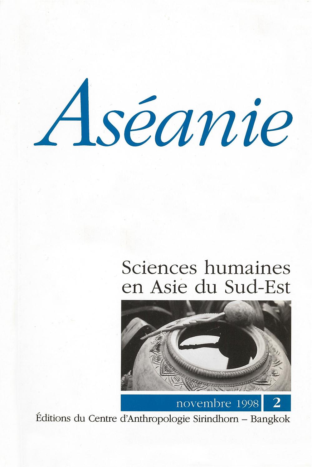 Aséanie 2 (novembre 1998)