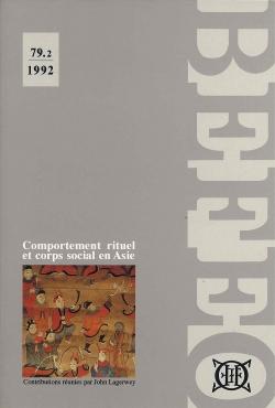 Bulletin de l'Ecole française d'Extrême-Orient 79.2 (1992)