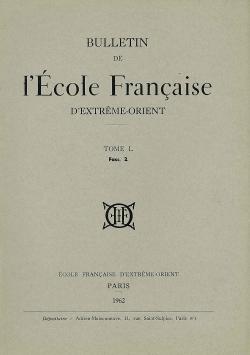 Bulletin de l'Ecole française d'Extrême-Orient 50 (1962)