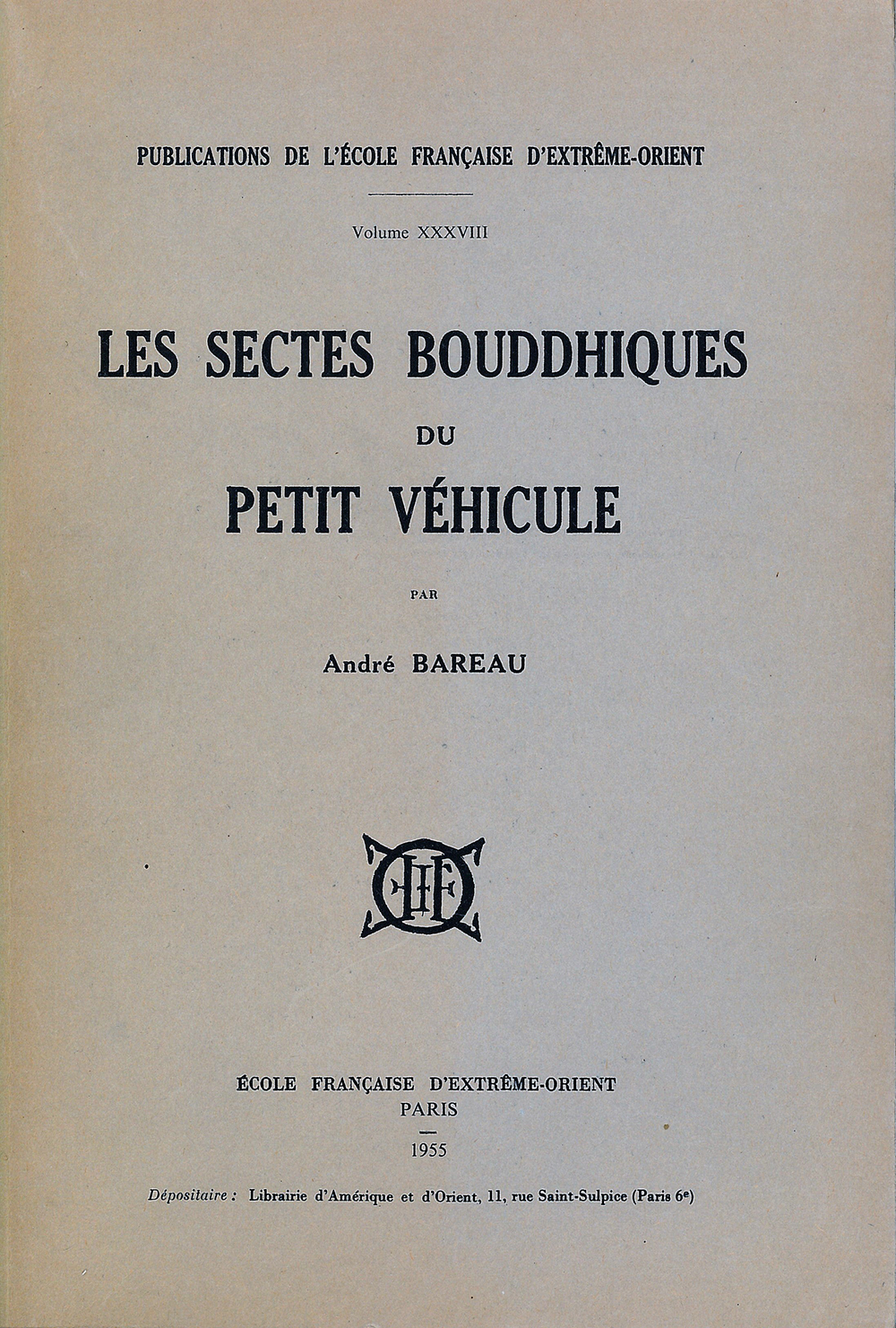 Les Sectes bouddhiques du petit véhicule
