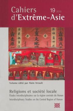 Cahiers d'Extrême-Asie 19 (2010)
