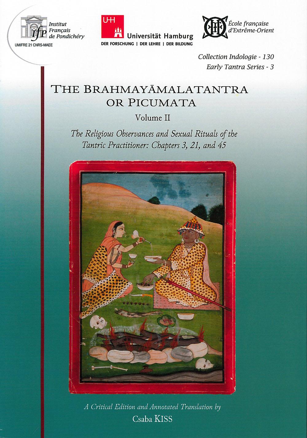 The Brahmayāmalatantra or Picumata
