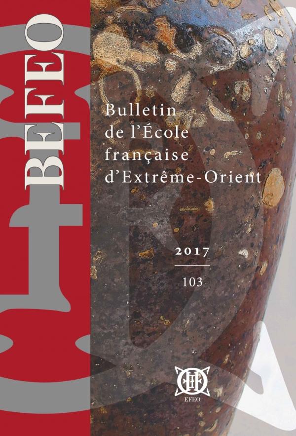 Bulletin de l'École française d'Extrême-Orient 103 (2017)