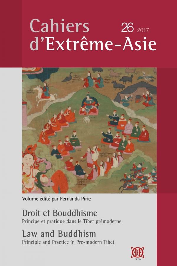Cahiers d'Extrême-Asie 26 (2017)