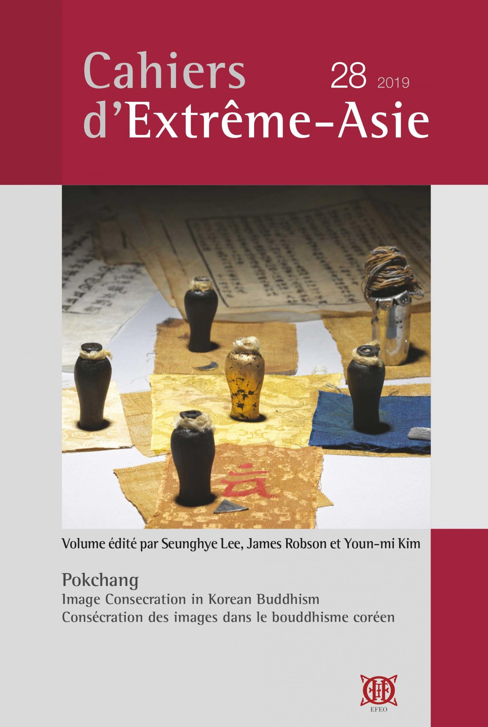 Cahiers d'Extrême-Asie 28 (2019)
