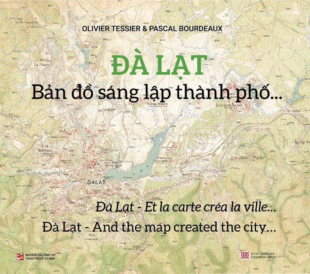 Đà Lạt - Bản đồ sáng lập thành phố