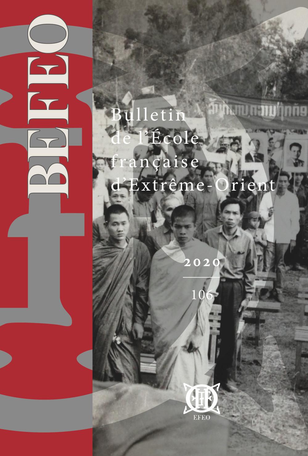 Bulletin de l'École française d'Extrême-Orient 106 (2020)