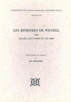 Les Mémoires de Wendel sur les Jāṭs, les Paṭhān et les Sikh