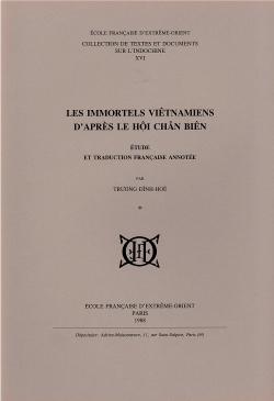 Les Immortels vietnamiens d'après le Hội chân biên