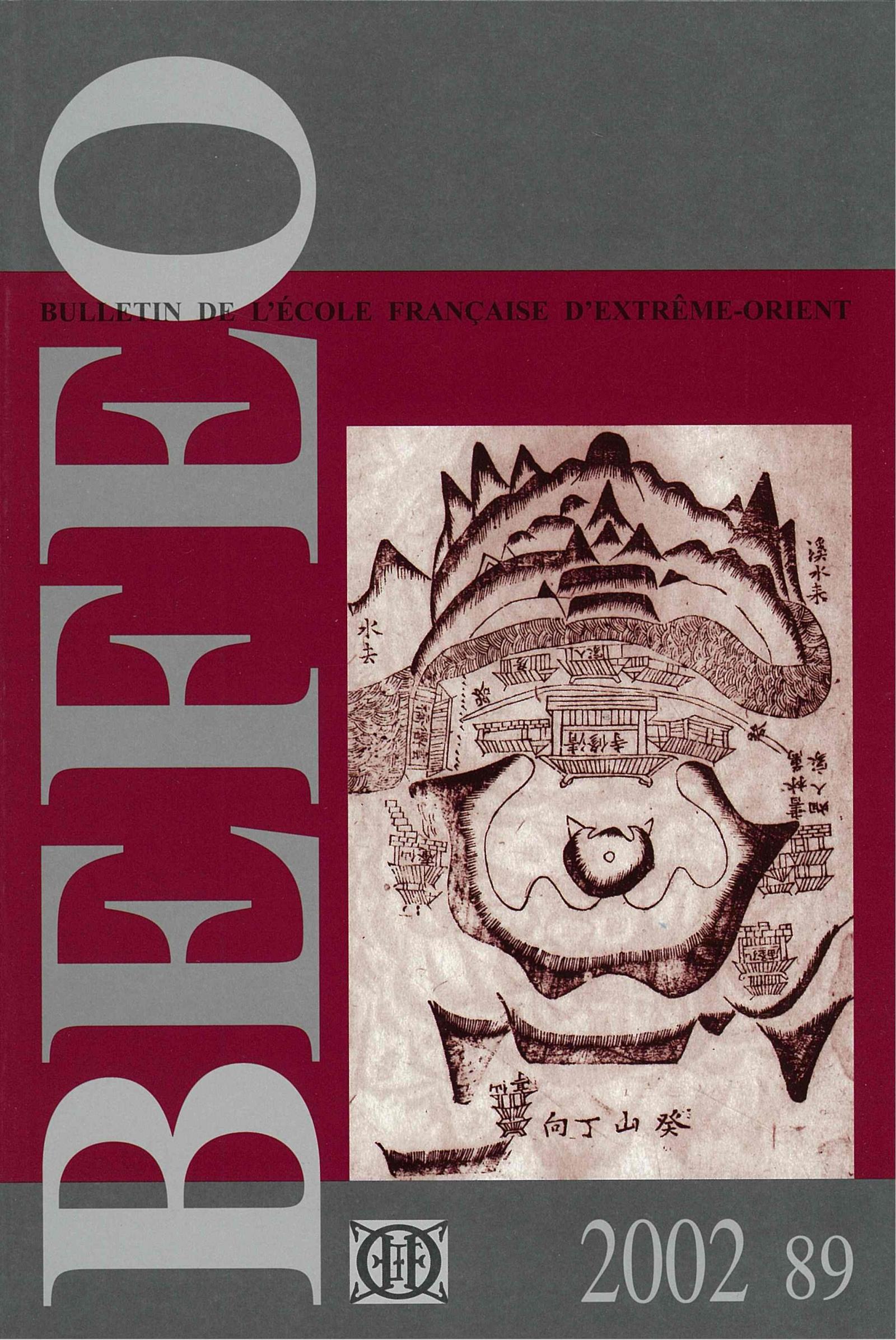 Bulletin de l'Ecole française d'Extrême-Orient 89 (2002)