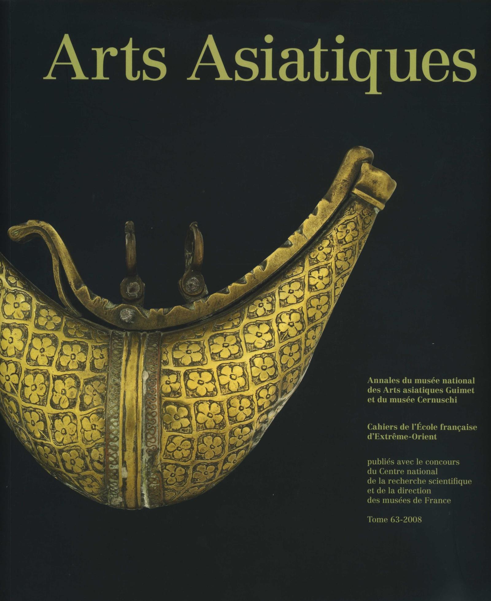 Arts Asiatiques 63 (2008)
