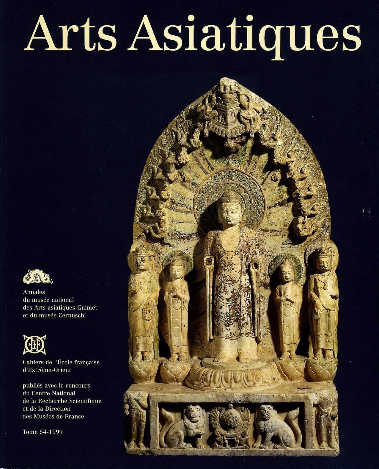 Arts Asiatiques 54 (1999)