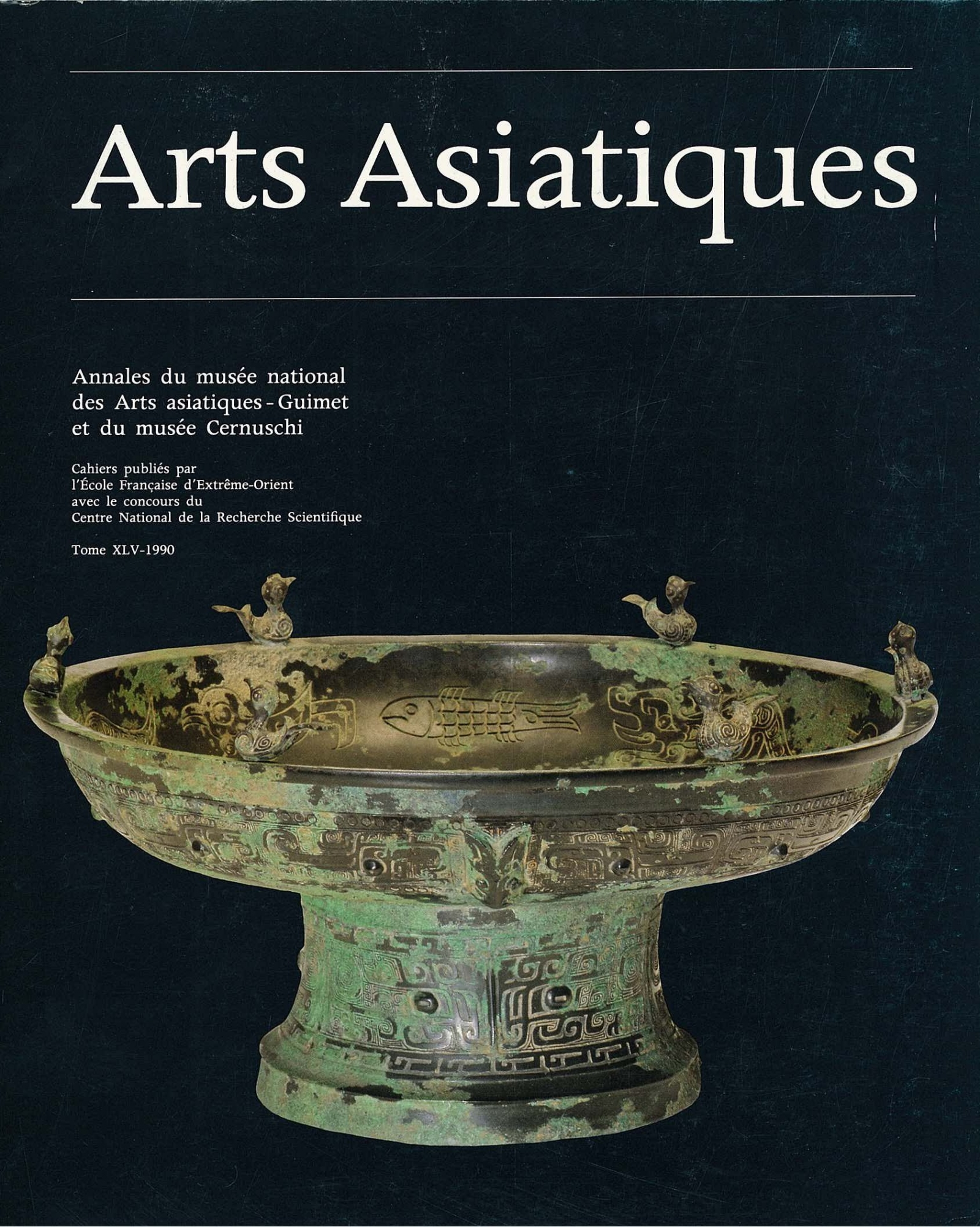 Arts Asiatiques 45 (1990)