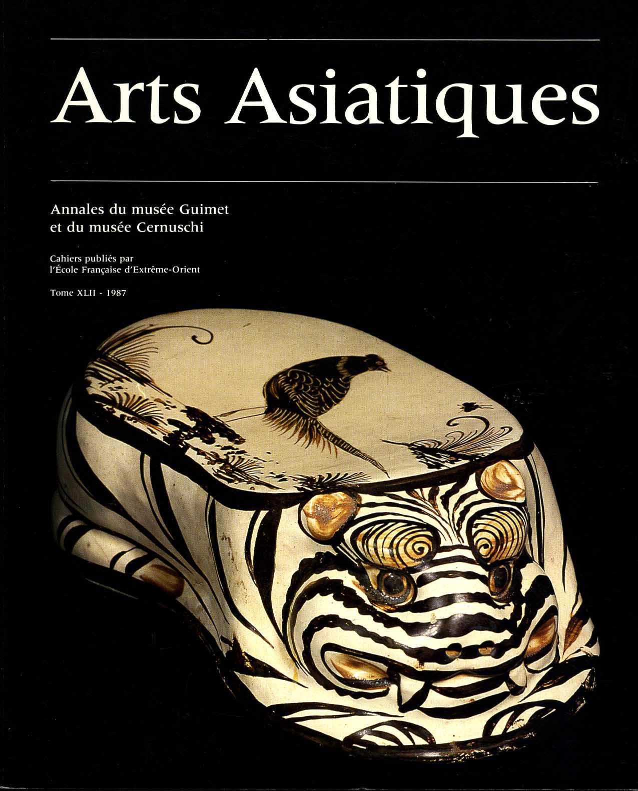 Arts Asiatiques 42 (1987)