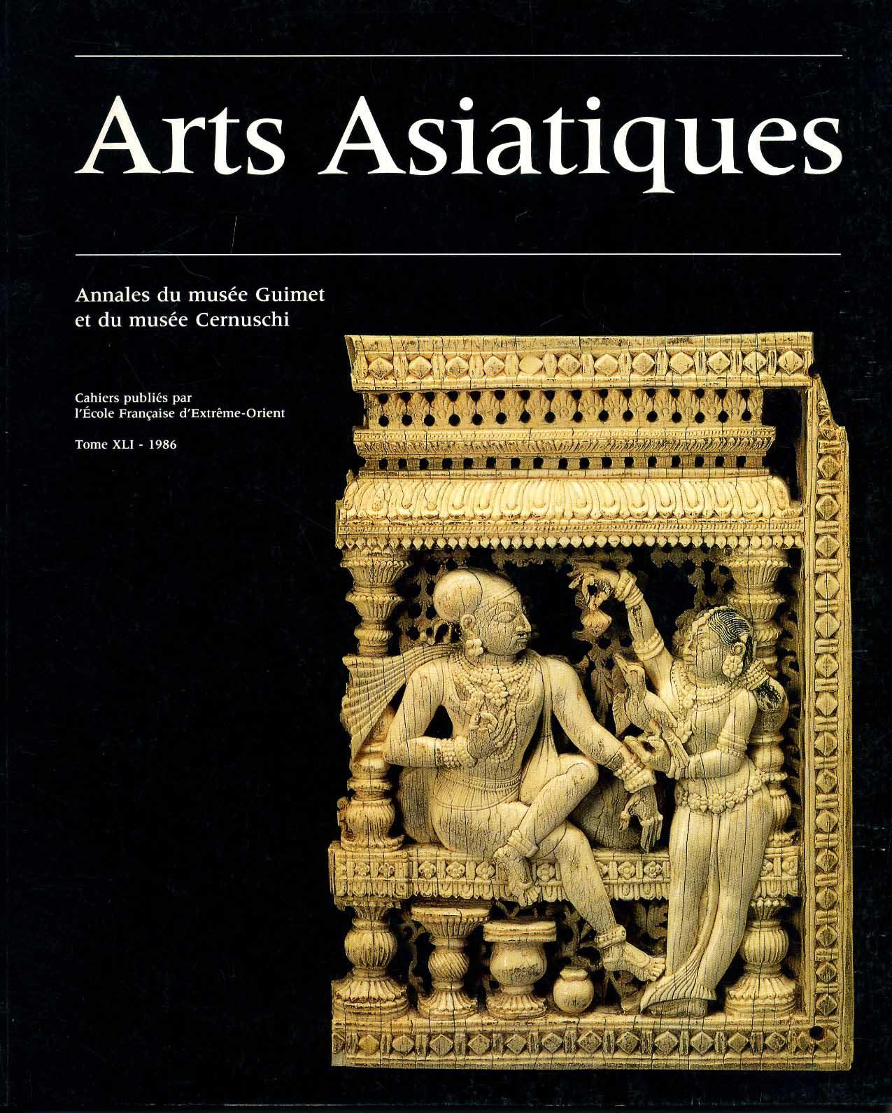 Arts Asiatiques 41 (1986)