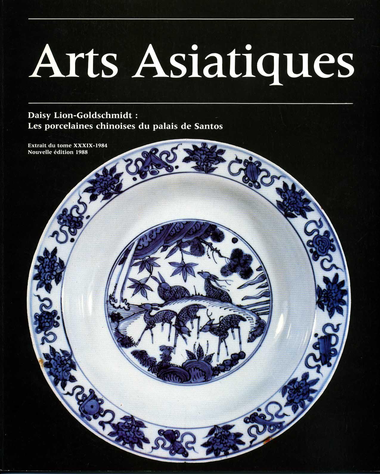 Arts Asiatiques 39 (1984)
