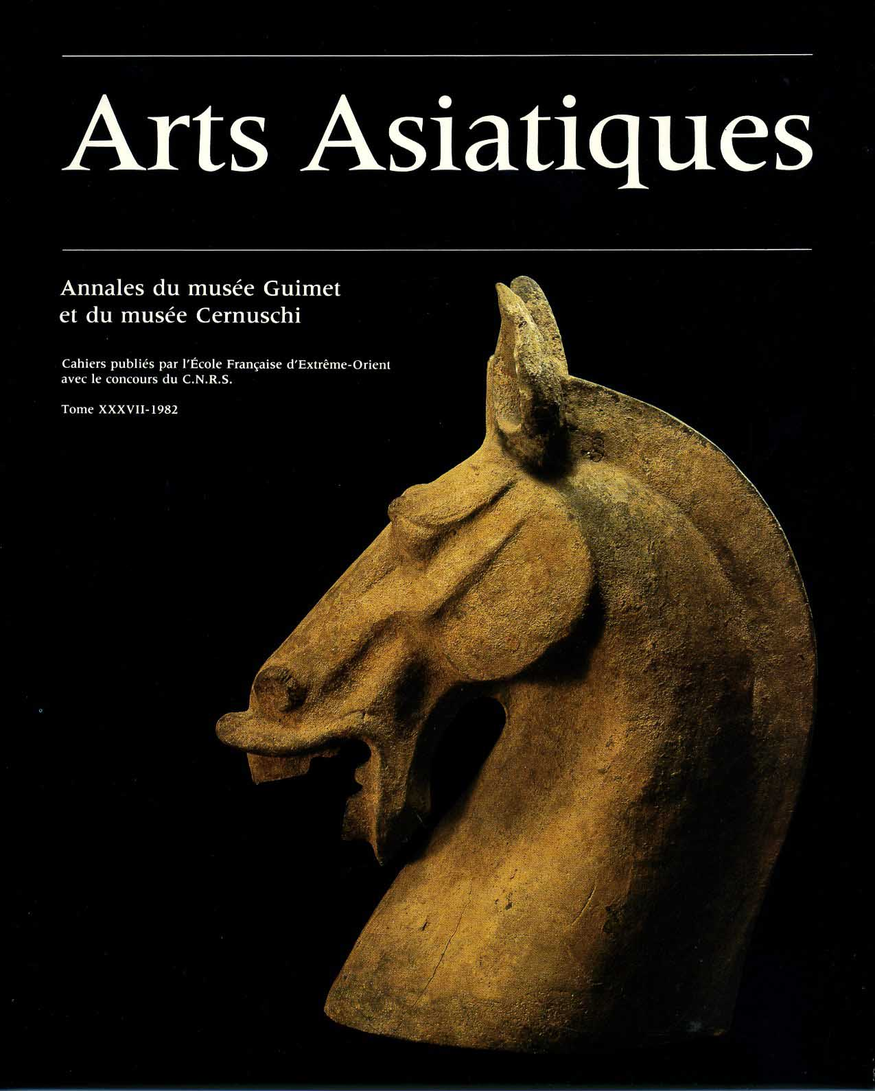 Arts Asiatiques 37 (1982)