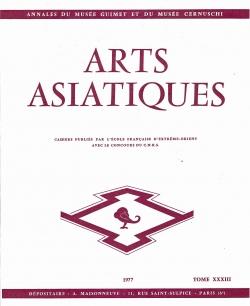 Arts Asiatiques 33 (1977)