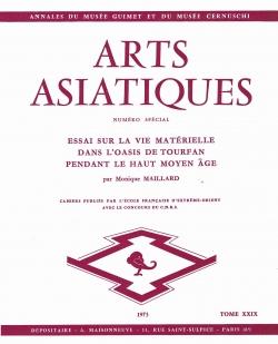 Arts Asiatiques 29 (1973)