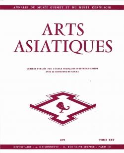 Arts Asiatiques 25 (1972)