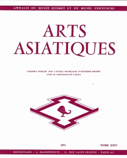 Arts Asiatiques 24 (1971)