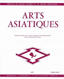 Arts Asiatiques 23 (1971)