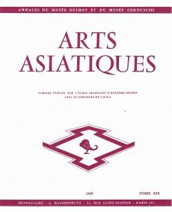 Arts Asiatiques 19 (1969)