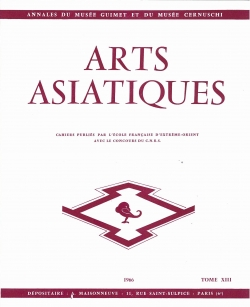 Arts Asiatiques 13 (1966)