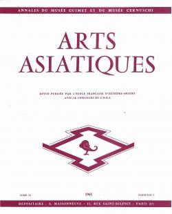 Arts Asiatiques 11 (1965)