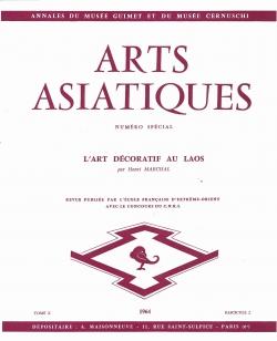 Arts Asiatiques 10 (1964)