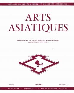 Arts Asiatiques 9 (1962-1963)