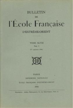 Bulletin de l'Ecole française d'Extrême-Orient 48 (1956)