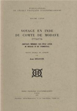 Voyage en Inde du Comte de Modave, 1773-1776 : nouveaux mémoires sur l'état actuel du Bengale et de l'Indoustan