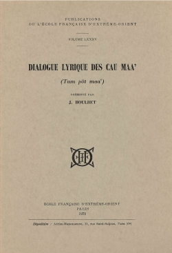 Dialogue lyrique des Cau Maa' (Tam pöt maa')