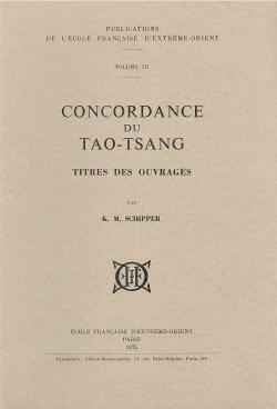 Concordance du Tao-Tsang