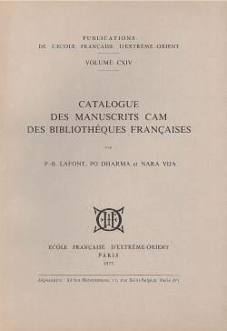 Catalogue des manuscrits Cam des bibliothèques françaises
